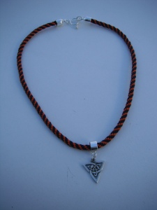 UVA necklace with Celtic pendant